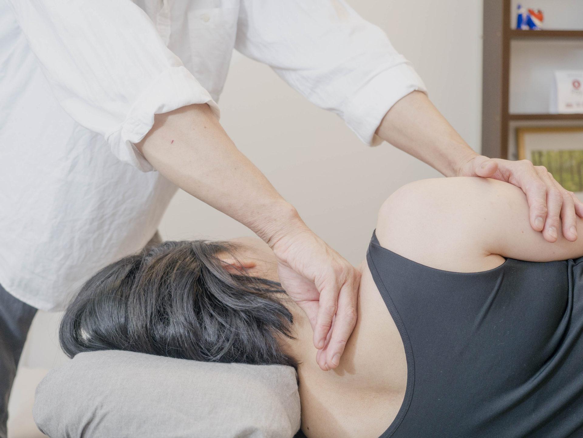 筋膜リリースで根本的な姿勢改善