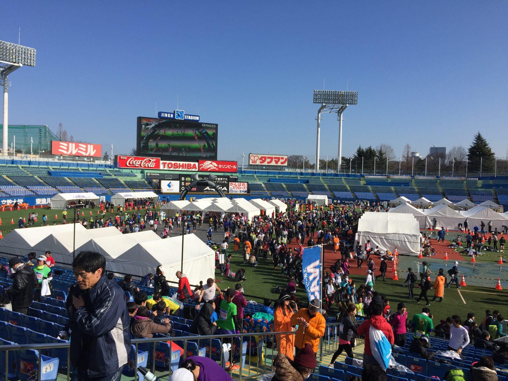 新宿シティハーフマラソン参加。身体を痛めない走り方の修正